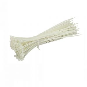 Conotech Cable tie (δεματικά)  4,8x400mm Λευκά