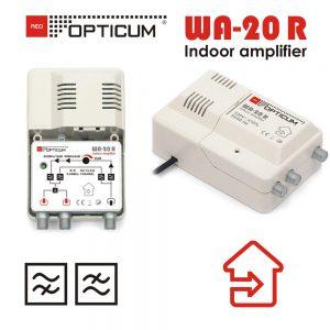 Ενισχυτής γραμμής Opticum WA-20R